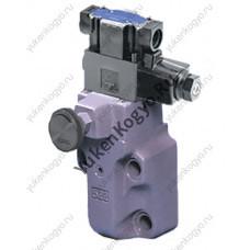 Предохранительный гидроклапан  с электромагнитным управлением Yuken BSG-03-V-2B3B-D24-48