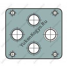 Монтажные плиты для гидрораспределителей Yuken с электромагнитным управлением