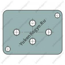 Монтажные плиты для гидрораспределителей Yuken с электромагнитным управлением серии DSG-005