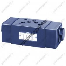 Клапаны обратные управляемые модульного монтажа (гидрозамок), Ду 3/8 Yuken