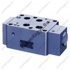 Клапаны обратные управляемые модульного монтажа (гидрозамок), Ду 3/4 Yuken