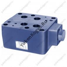 Клапаны обратные управляемые модульного монтажа (гидрозамок), Ду 1-1/4 Yuken