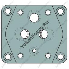 Плиты для стыкового монтажа для редукционно- предохранительных гидроклапанов Yuken