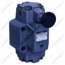 Гидроклапаны редукционно-предохранительные, резьбовое соединение Yuken