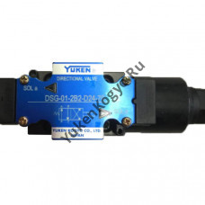 Гидрораспределитель с электромагнитным управлением Yuken DSG-01-2B2-D24-70