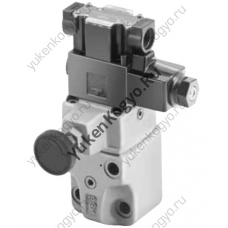 Гидроклапан предохранительный с электромагнитным управлением с дросселем (резьбовое соединение)