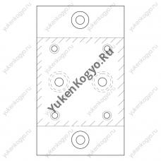 Монтажные плиты для предохранительных клапанов Yuken дистанционного управления
