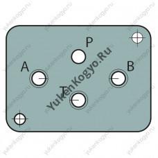 Монтажные плиты для гидрораспределителей Yuken с электромагнитным управлением (Ду 1/8) серии DSG-01