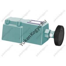Предохранительный гидроклапан Yuken дистанционного управления, резьбовое соединение