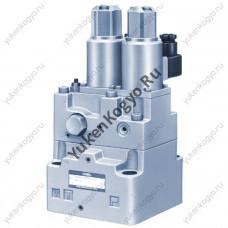 Пропорциональный регулятор расхода Yuken с электрогидравлическим управлением с предохранительным клапаном