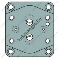 Плиты для стыкового монтажа для предохранительных клапанов серии H и НС Yuken