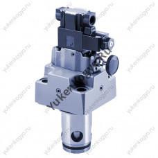 Гидроклапаны логические предохранительно-разгрузочные с электромагнитным управлением Yuken