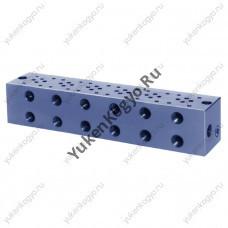 Плиты для стыкового монтажа для модульных клапанов, Ду 1/8 Yuken