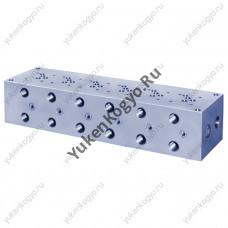 Плиты для стыкового монтажа для модульных клапанов, Ду 3/8 Yuken