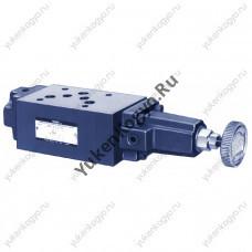 Гидроклапаны редукционные модульного монтажа для низкого давления, Ду 3/8 Yuken