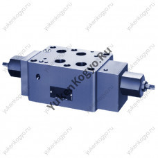 Дроссель с параллельным обратным клапаном модульного монтажа, Ду 3/4 Yuken
