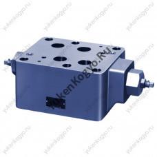 Дроссель с параллельным обратным клапаном модульного монтажа, Ду 1-1/4 Yuken