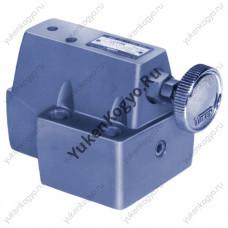 Гидроклапаны редукционно-предохранительные, стыковой монтаж на плите Yuken